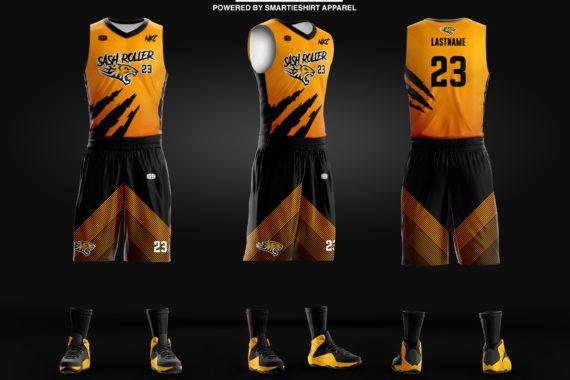 Sash Roller Basketball Jersey
