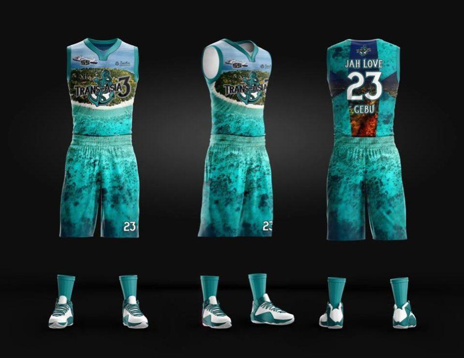 Transasia Full Sublimation Basketball Jersey Philiprint