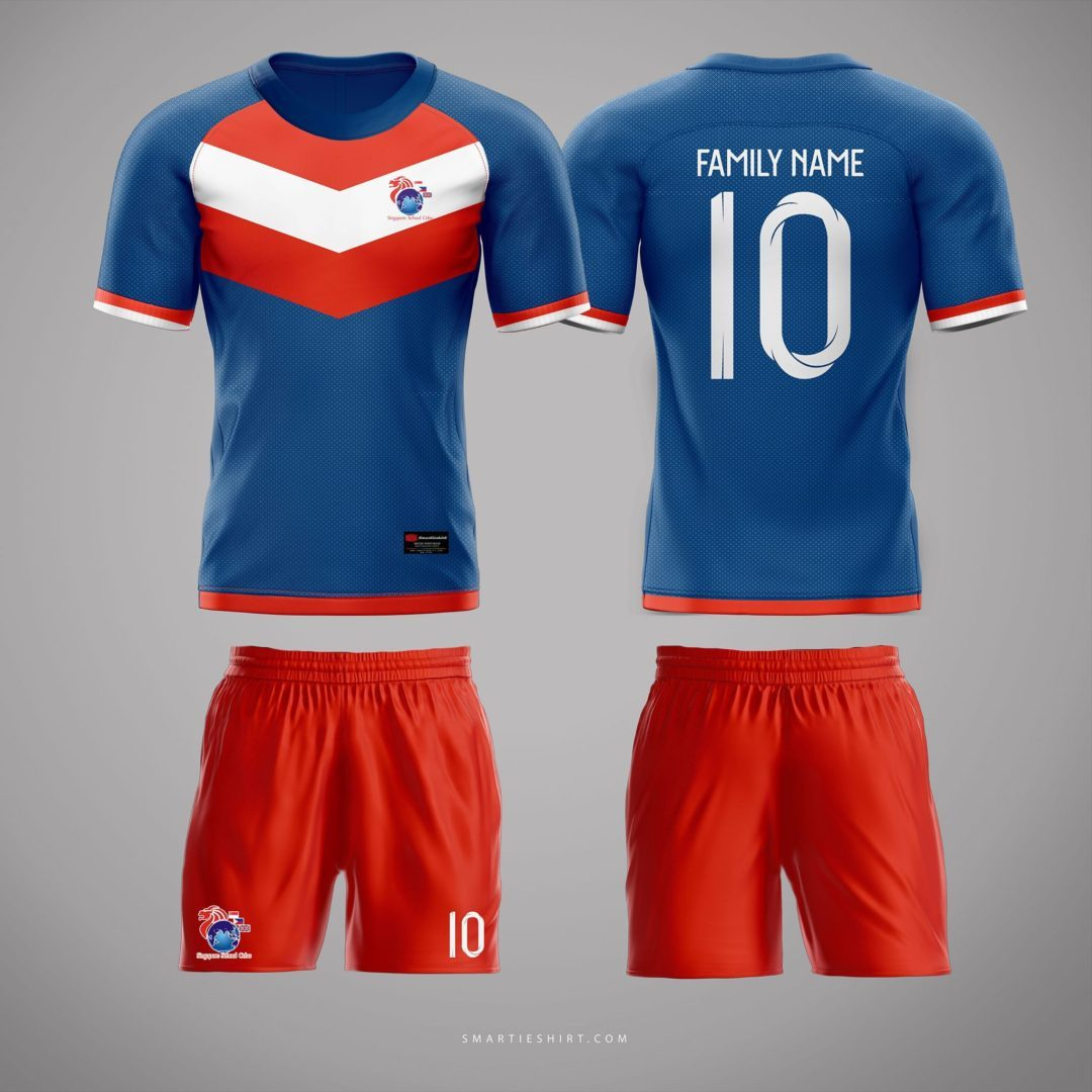 Singapore School Full Sublimation Soccer Jersey