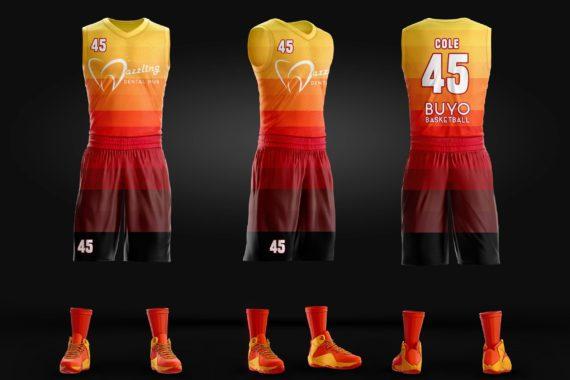 Buyo Full Sublilmation Basketball Jersey