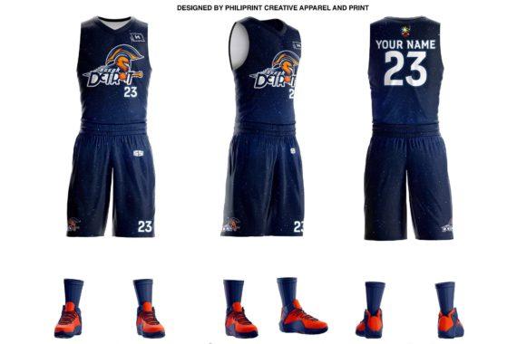 Detroit Full Sublimation Basketball Jersey