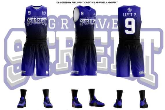 Grove Street Full Sublimation Basketball Jersey