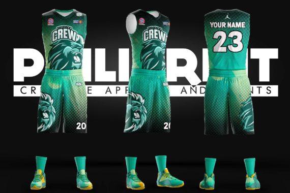 Filipino Crew Full Sublimation Basketball Jersey