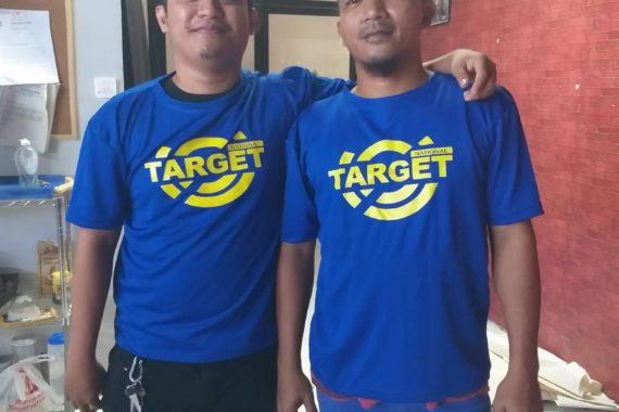 Target Vinyl Printed T Shirt