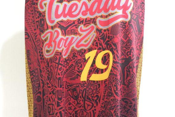Tuesday Boys Full Sublimation Basketball Jersey