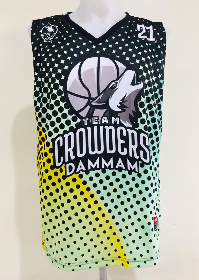 Team Crowders Full Sublimation Basketball Jersey