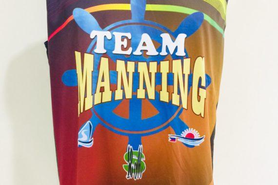 Team Manning Full Sublimation Basketball Jerse