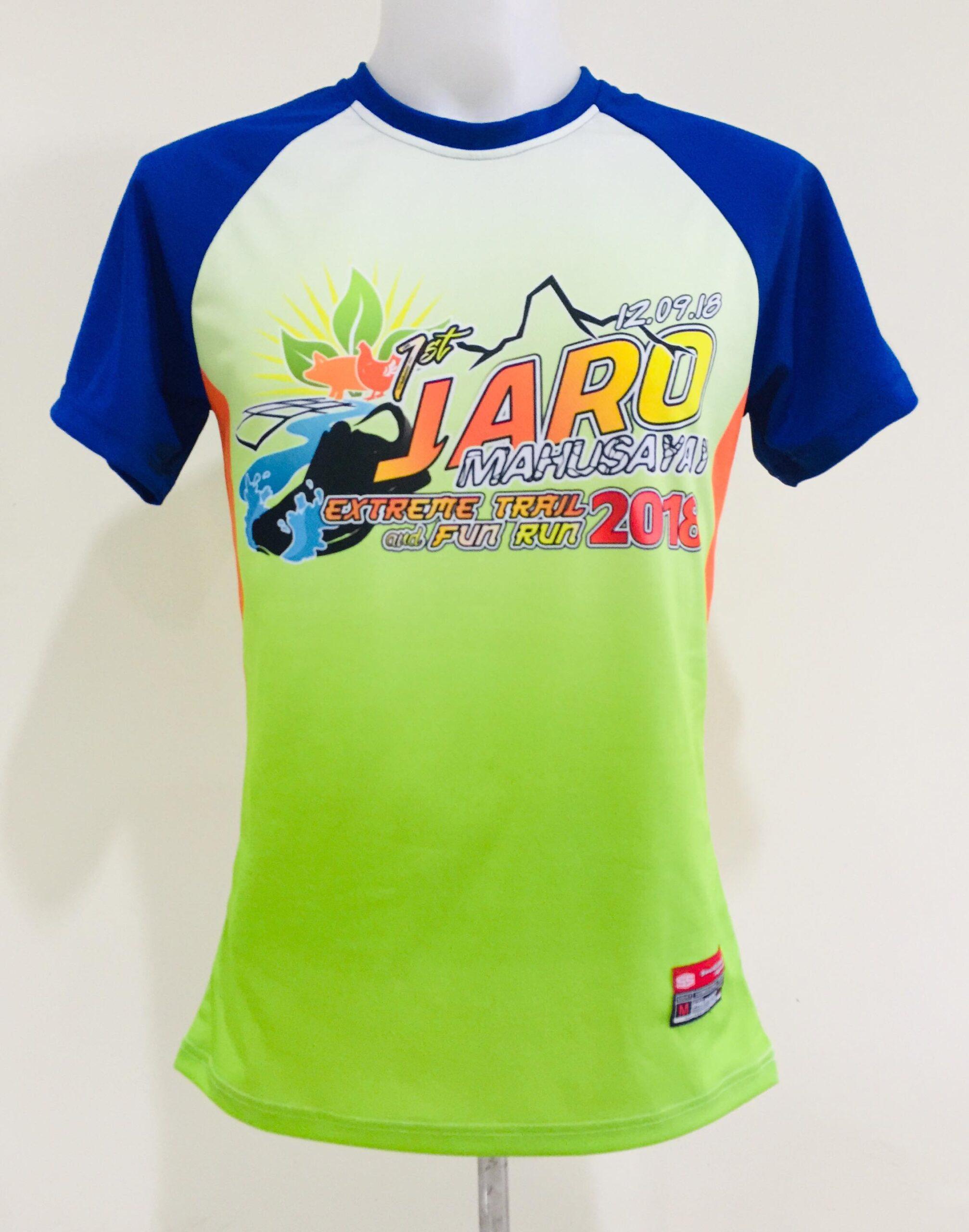Jaro Full Sublimation Fun Run Uniform