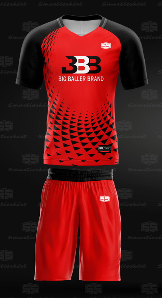 Philiprint BIG BALLER BRAND Full Sublimation Football Jersey