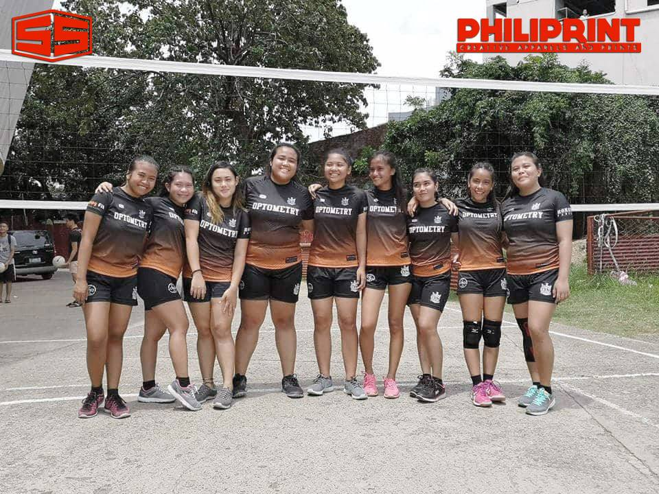 Philiprint OPTOMETRY Volleyball Jersey Full Sublimation