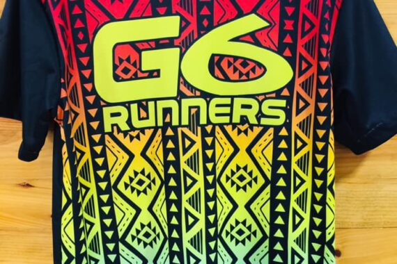 Philiprint G6 RUNNERS Full Sublimation T-shirt Print