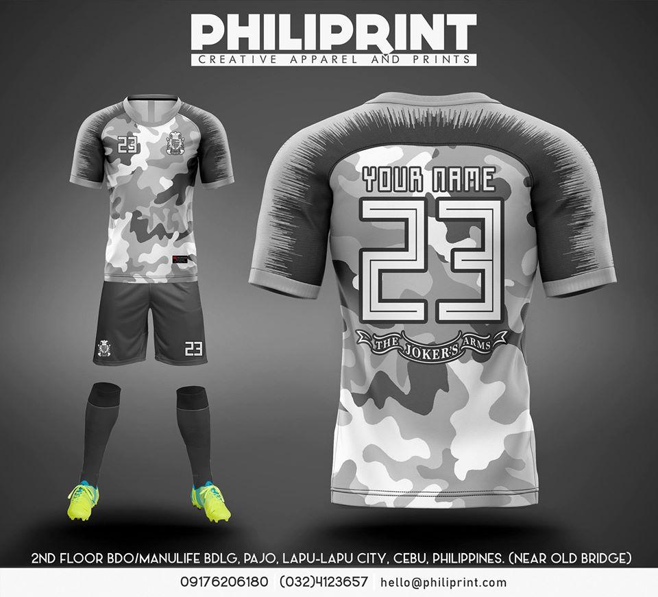 Philiprint Joker's Arm Full Sublimation Football Jersey