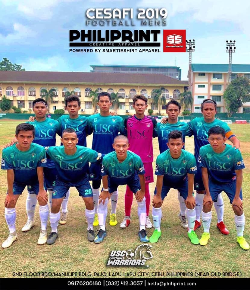 Philiprint USC Warriors Football Jersey Full Sublimation