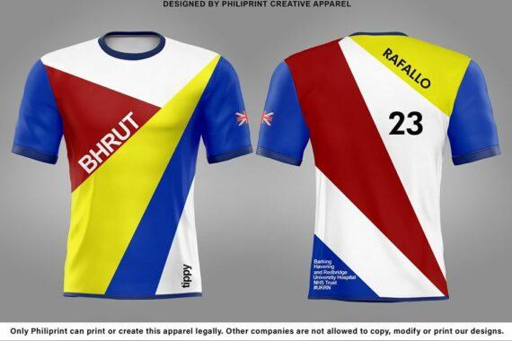 Philiprint UK BHRUT Full Sublimation Printed T-shirt