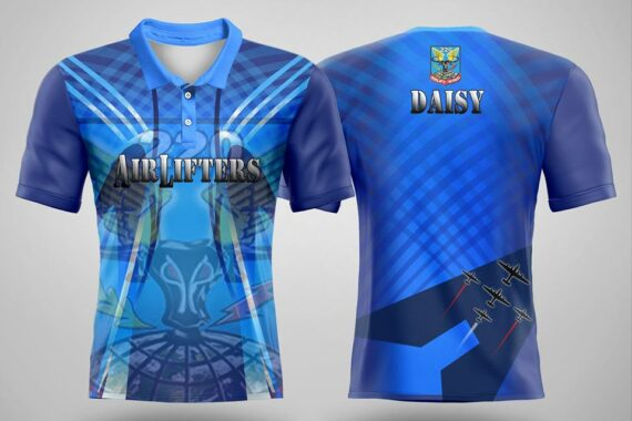 Philiprint Air Lifters Sublimation Polo Shirt