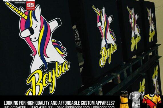 Philiprint Beyba Silkscreen T-shirt Printing