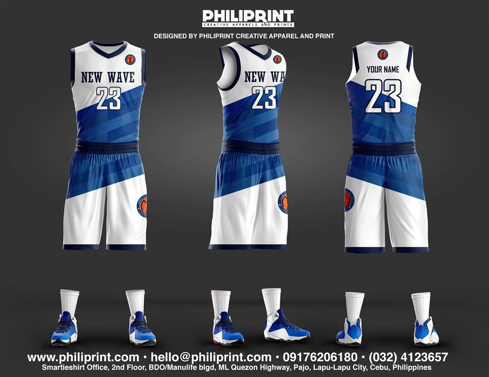 New Wave Full Sublimation Basketball Jersey Philiprint