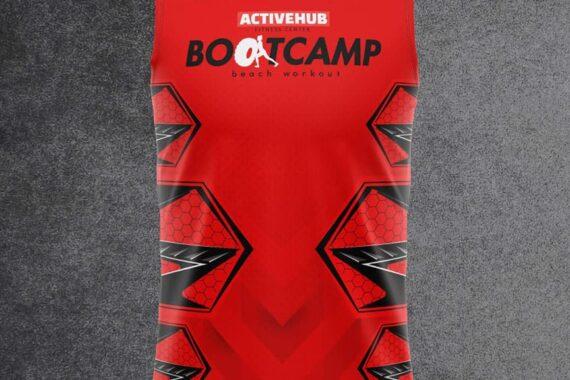 Philiprint BOOTCAMP Men's Workout Sleeveles Shirt