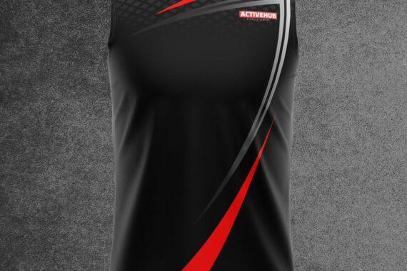 Philiprint Sports Sleeveless Shirt