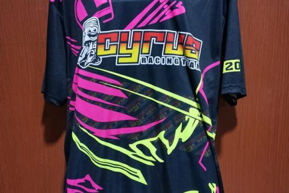 Philiprint Cyrus Racing Team Motorcycle Club Shirt