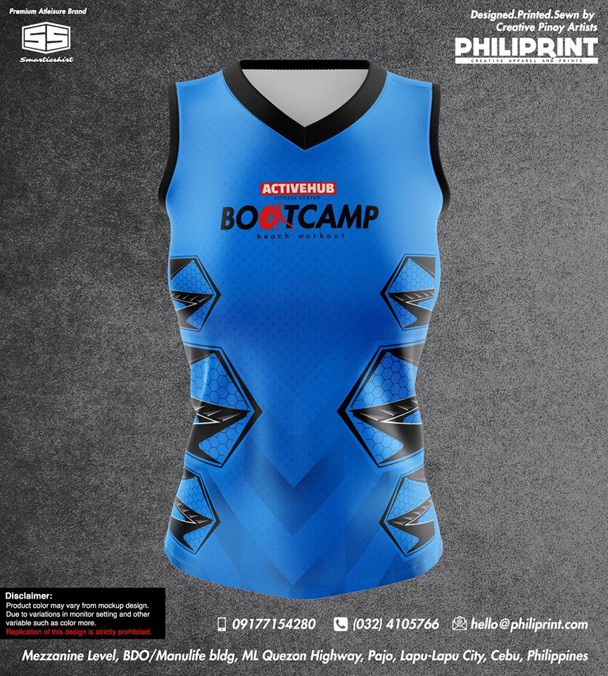 Philiprint BOOTCAMP Sports Sleveless Shirt
