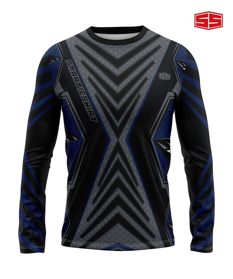 Philiprint Smartieshirt Long Sleeve Full Sublimation Motorcycle Jersey
