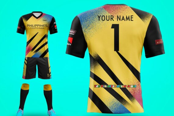 Philiprint Football Jersey Full Sublimation PHILIPPINES TROPICALES
