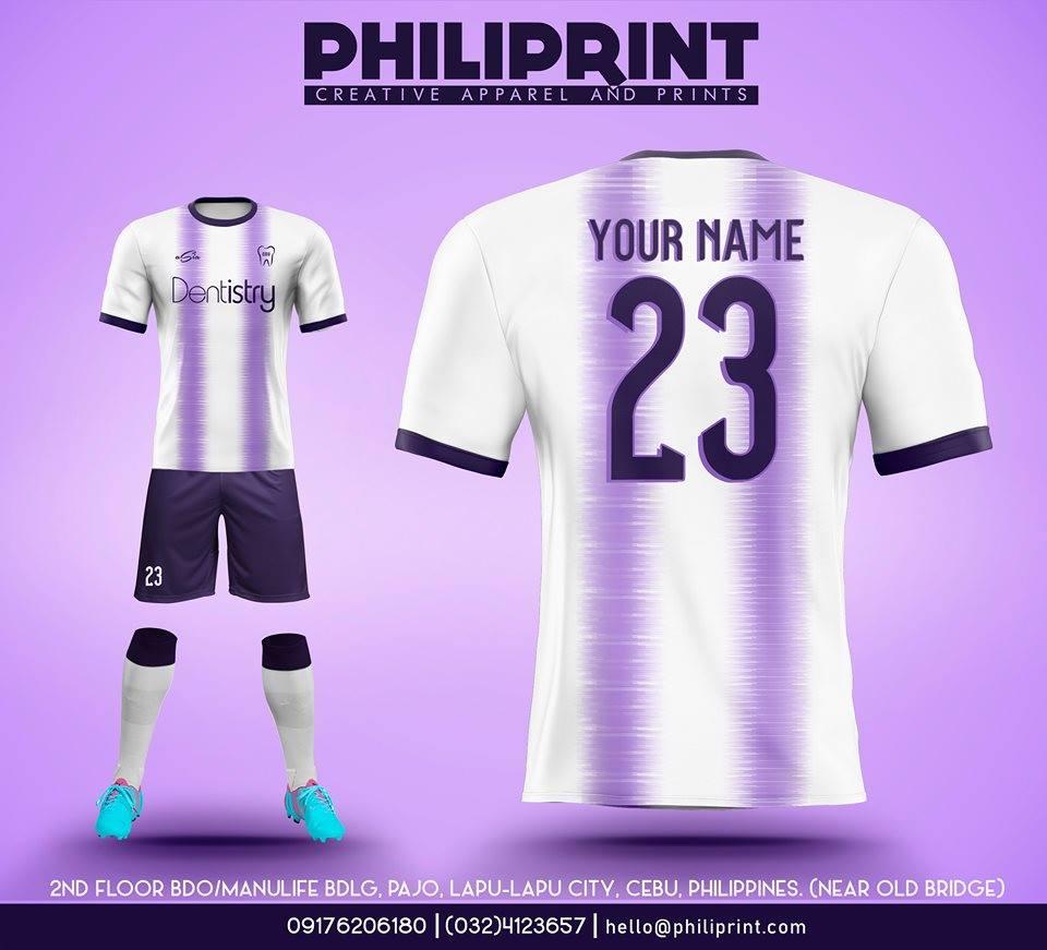 Philiprint Football Jersey Full Sublimation DENTISTRY