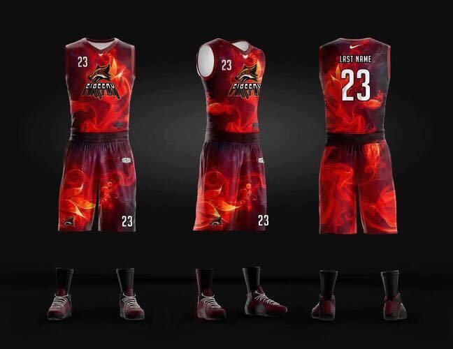 Philiprint Basketball Jersey Full Sublimation FIRFOX