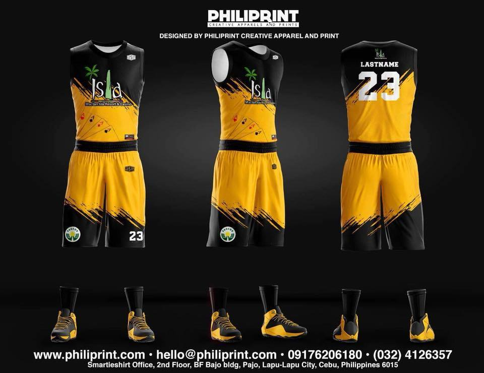 Philiprint Basketball Jersey Full Sublimation ISLA MACTAN