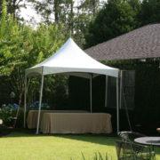 High-Peak Frame Tent – 10×10