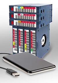 tape data recovery external hard drive