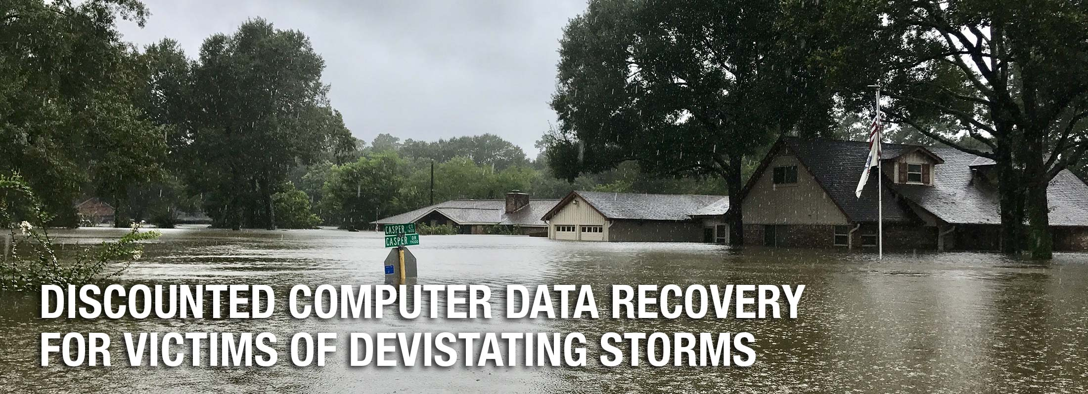 disaster data recovery fire flood recovery