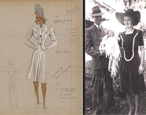 For generational context, historical photos can be compared with period fashion illustrations.