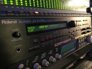 Roland JV 1080 FaderPro Dom Kane