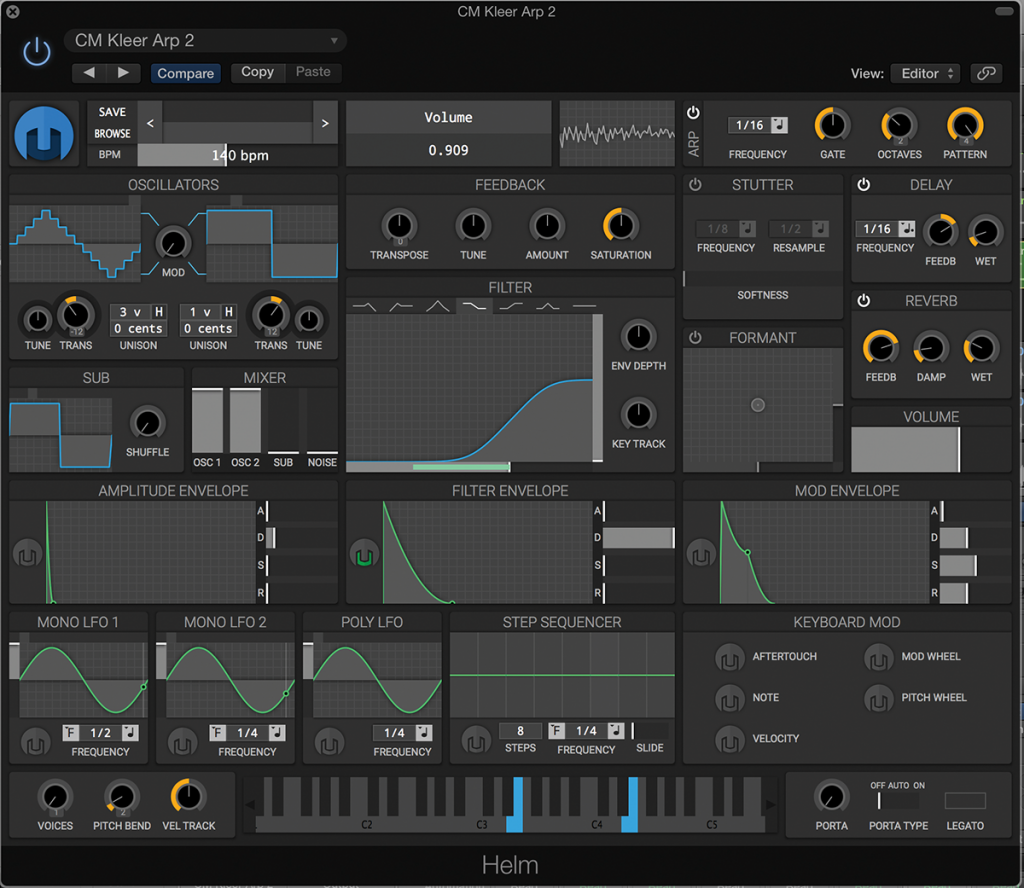 Matt Tytel Helm Synth Free synth plugin