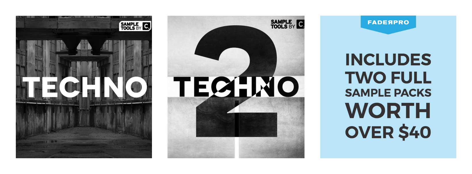 Cr2 Techno Sample pack FaderPro