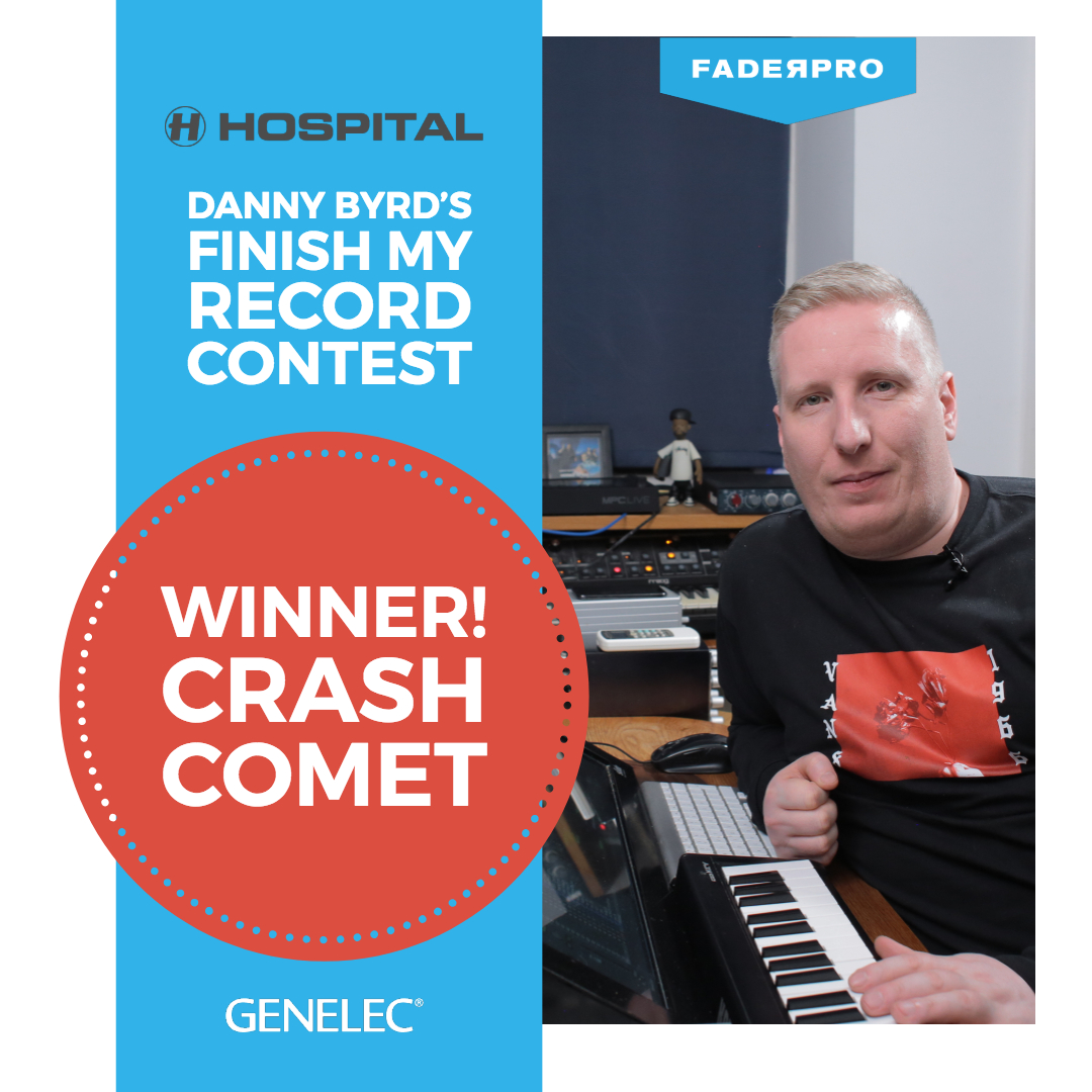 Danny Byrd FaderPro Finish My Record Contest.