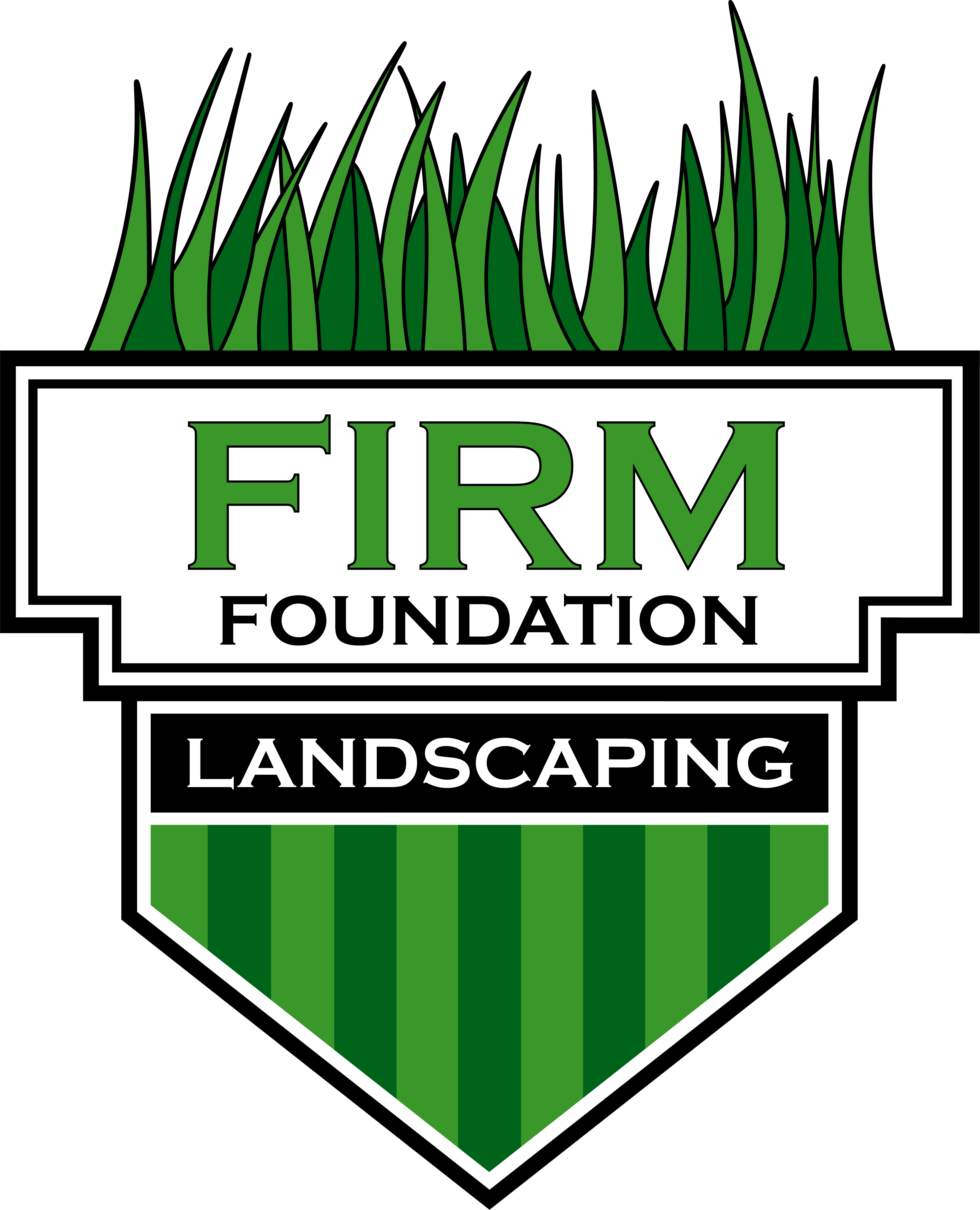 Firm Lawn Care Logo