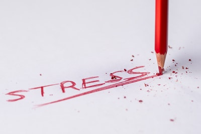 Self-imposed stress can be a distraction to our personal vision