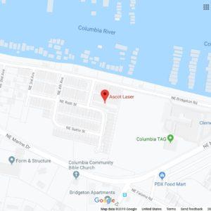 Ascot Laser GoogleMap