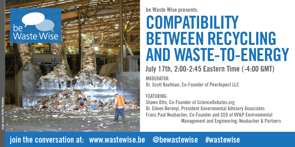 Compatibility between Recycling and Waste-to-Energy: Waste Wise Panel