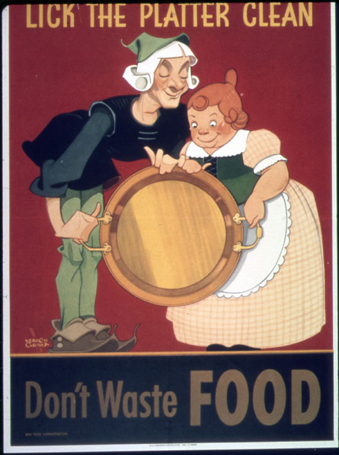Image: A poster released during World War II by the Bureau of Special Services under United States Office for Emergency Management; Source: archives.org