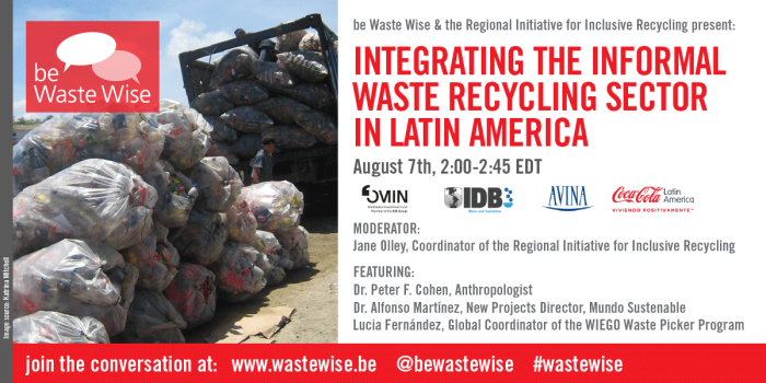 Integrating the Informal Recycling Sector in Latin America