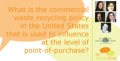 Featured Image - Recycling in North American Cities - Commercial Waste Recycling Policy in the United States