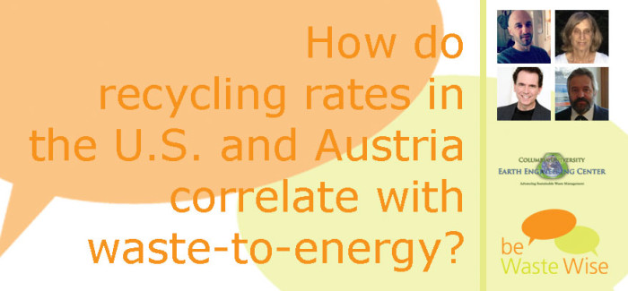 Correlation Between Recycling Rates and Waste-to-Energy
