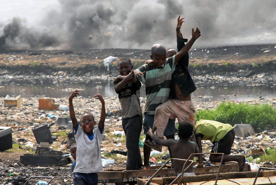 Agbogbloshie Dumpsite in Accra, Ghana; Photo by   Seth.