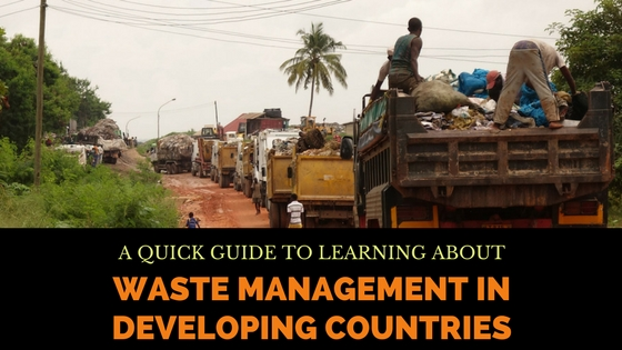 waste management in developing countries