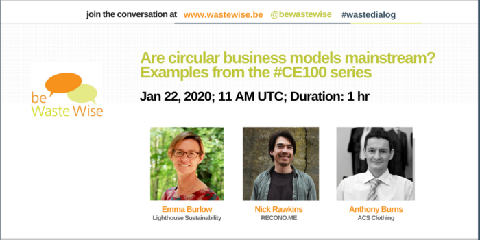 Are circular business models mainstream? Examples from the #CE100 series