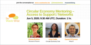 Circular Economy Mentoring – Access to Support / Networks